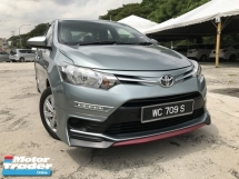2017 TOYOTA VIOS 1.5J (AT) 1 OWNER FULL TRD BODYKIT FULOAN OTR CITY ALMERA