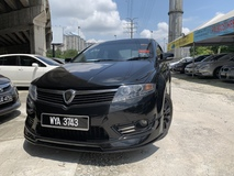 2013 PROTON PREVE 1.6cc R3 BODYKITS CVT PREMIUM SPEC BLACK EDITION FULL LOAN 0122537416