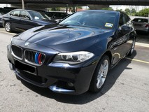 2013 BMW 5 SERIES 528i M Sport Local TRUE YEAR MADE 2013 NO SST FREE 1 YEAR WARRANTY 58k km only Full Service Ingress