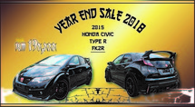 2015 HONDA CIVIC TYPE-R MANUAL YEAR END SALE