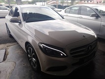 2017 MERCEDES-BENZ C-CLASS C180 Avantgarde Turbocharged Genuine Low Mileage Under Warranty Mercedes Benz Malaysia until 2021 Full Service Records Accident Free Tip Top Condition