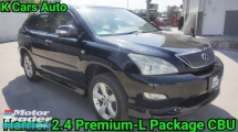 2011 TOYOTA HARRIER 240G PREMIUM L PACKAGE PANORAMIC ROOF JAPAN HIGH SPEC VERY GOOD CONDITION