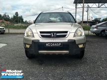 2004 HONDA CR-V Honda CRV 2.0 IVtec (A) Low Dept