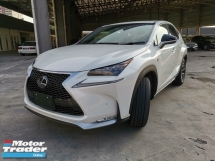 2014 LEXUS NX 200T FSPORTS SUNROOF, RED LEATHER SEAT - UNREG - OTR WITHOUT INSURANCE