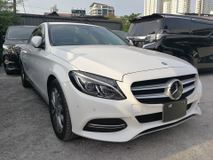 2014 MERCEDES-BENZ C-CLASS c200 2.0 SPORT SEDAN JAPAN SPEC UNREG 2014