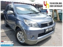 2013 TOYOTA RUSH 2013 Toyota RUSH 1.5 S FACELIFT (A) 1 OWNER
