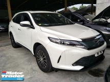 2017 TOYOTA HARRIER 2.0 PREMIUM PANAROMIC ROOF POWER BOOT RADAR 360 VIEW CAMERA ELECTRIC SEATS