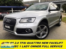 2015 AUDI Q5 2.0 TFSI NEW FACELIFT 8 SPEED FULL SERVICE ON TIME TIPTOP