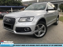 2014 AUDI Q5 2.0 TFSI QUATTRO S-LINE LOCAL IMPORT NEW SPEC 1OWNER TIP TOP CONDITION