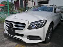 2014 MERCEDES-BENZ C-CLASS c200 2.0 SPORT AVANTGARDE JAPAN SPEC UNREG 2014