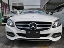 2014 MERCEDES-BENZ C-CLASS C200 2.0 SPORT SEDAN FACELIFT POWER BOOT UNREG 2014