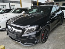 2014 MERCEDES-BENZ GLA GLA45 2.0 RECARO SEATS 4MATIC UK SPEC UNREG 2014