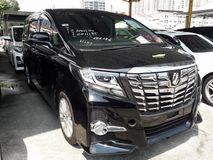 2015 TOYOTA ALPHARD 2.5 SA SUNROOF 7 SEATS 2 POWER DOORS 1 YEAR WARRANTY UNREG 2015