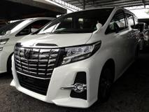 2015 TOYOTA ALPHARD 2.5 SC SUNROOF JBL FULL LEATHER SEATS (FULL SPEC) 1 YEAR WARRANTY  UNREG 2015