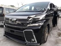 2015 TOYOTA VELLFIRE 2.5 ZG SUNROOF PILOT SEATS (1 YEAR WARRANTY) UNREG 2015
