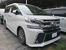 2016 TOYOTA VELLFIRE 2.5 ZG SUNROOF FULL LEATHER PILOT SEATS (1 YEAR WARRANTY) UNREG 2016