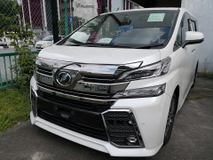 2016 TOYOTA VELLFIRE 2.5 ZG FULL SPEC SUNROOF JBL SUROUND 360 CAMERA FULL LEATHER UNREG 2016