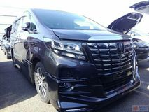 2015 TOYOTA ALPHARD 3.5 SAC (FULL SPEC) SUNROOF JBL SUROUND VIEW CAMERA TRD BODYKIT UNREG 2015