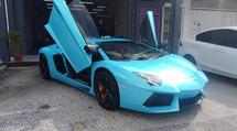 2011 LAMBORGHINI AVENTADOR LP700-4 6.5 litre 60° V12 700hp Original Mileage 11K KM Full Service Record Lamborghini Glenmarie