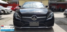 2016 MERCEDES-BENZ C-CLASS C180 1.6 Coupe NFL UNREG JP ORI MILEAGE CLEARANCE PRICE (RM259,000 NEGO)