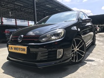 2012 VOLKSWAGEN GOLF GTi 2.0 MK6-SE Spec-Sunroof-ABT Sport Rim-Paddle Shift-Black Interior