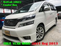 2011 TOYOTA VELLFIRE 3.5 V6 - Welcab - Cooler Box - 2 Power Door - Power Boot - Sunroof
