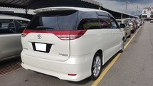 2008 TOYOTA ESTIMA AERAS S PACKAGE (A) REG 2013, ONE OWNER, 7 SEAT, 2 POWER DOOR, REVERSE CAMERA, 18\