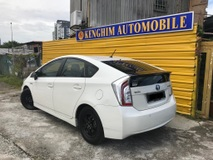 2014 TOYOTA PRIUS 1.8  (A) HYBRID SYNERGY DRIVE LEATHER SEATS FULL SPEC