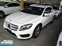 2016 MERCEDES-BENZ GLA 180 1.6 TURBO AMG JAPAN SPEC PRE CRASH STOP SYS PUSH START BUTTON KEYLESS SMART ENTRY2 MEMORY SEATS
