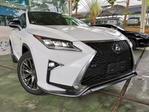 2017 LEXUS RX 200T F SPORT SUNROOF DIGITAL METER UNREG