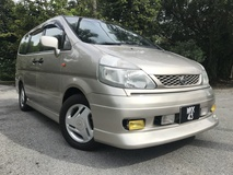 2003 NISSAN SERENA 2.0 (A) HIGHWAY STAR BLACK LIST ACCPET LIKE NEW
