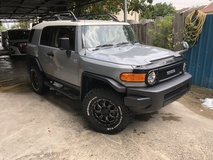 2014 TOYOTA FJ CRUISER FJ Cruiser 4.0 Off Road Lift Kit Side Step Leather Cover TRD Exhaust Nardo Grey