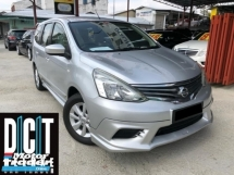 2016 NISSAN GRAND LIVINA 1.6L (A) tip top condition 1lady owner family use low mileage