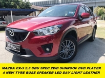 2016 MAZDA CX-5 2.5 CBU SUNROOF BOSE SOUND SYSTEM WEEKEND USED ONLY ONE OWNER BEFORE