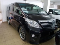 2011 TOYOTA ALPHARD 2.4 S PRIME (ACTUAL YR MADE 2011)