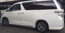 2013 TOYOTA VELLFIRE 2013 Toyota Vellfire 2.4 WELCAB  Facelift Model White Colour