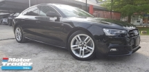 2014 AUDI A5 2.0 TFSI QUATTRO S-LINE JP SPEC CLEARANCE PRICE (RM179,000.00 NEGO)