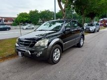 2006 NAZA SORENTO 2.5 (A) LEATHER , AUTO, 4X4, SUNROOF, SPORT RIMS, ABS, AIRBAG