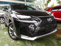 2017 LEXUS NX 200T F SPORT 4WD RED SEATS NEW YEAR SALES UNREG