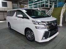 2016 TOYOTA VELLFIRE ZG. ALPINE AUDIO PLAYER. PRICE NEGOTIABLE. FULL LOAN. PROVIDE WARRANTY. FREE SERVICING. ALPHARD