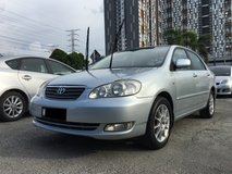 2005 TOYOTA COROLLA ALTIS 1.8 G (A) CCRIS AKPK CAN LOAN ** BLACKLIST SAA CAN LOAN ** CTOS PTPTN CAN LOAN **