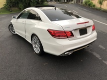 2014 MERCEDES-BENZ E-CLASS E250 Coupe AMG 2.0 Turbo Carlsson Rims Red INT Sunroof Pre Crash