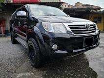 2013 TOYOTA HILUX 2.5 MT One Malay owner