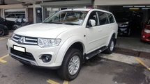 2014 MITSUBISHI PAJERO SPORT 2.5 GL DIESEL (A) REG 2015, ONE CAREFUL OWNER, LEATHER SEAT, REVERSE CAMERA, FULL SERVICE RECORD, LOW MILEAGE DONE 30K KM, UNDER WARRANTY UNTIL JUNE 2020