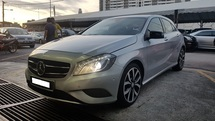 2014 MERCEDES-BENZ A-CLASS A200 CGI 1.6cc (A) REG 2014, IMPORT NEW MODEL, ONE OWNER, FULL SERVICE RECORD, LOW MILEAGE DONE 57K KM, FREE 1 YEAR CAR WARRANTY