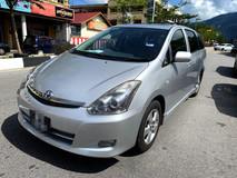 2006 TOYOTA WISH 1.8 FULL SUNROOF SPORT Spec(AUTO)2006 ONLY 1 LADY Owner, 97K Mileage, TIPTOP, ACCIDENT-Free, DIRECT-Owner, NEGOTIABLE with 2 AIRBEGs