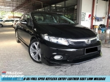2014 HONDA CIVIC 2.0 Full Spec Keyless Leather Seat One Owner Low Mileage