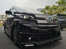 2016 TOYOTA VELLFIRE 2.5 ZG TRD FULL BODYKIT Limited Edition Sun Moon Roof Pre Crash