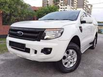 2014 FORD RANGER 2.5 XL TDI 4X4 DOUBLE CAB CANOPY