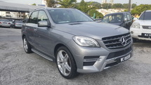 2014 MERCEDES-BENZ ML-CLASS ML350 AMG 4MATIC